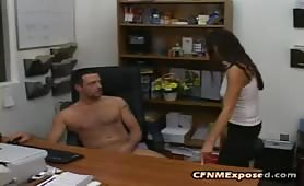 Two Clothed Girls Watch A Naked Man Jerk