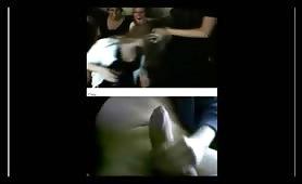 Jerking on webcam