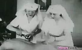Vintage CFNM Handjob Massage