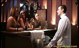 Hunky bartender