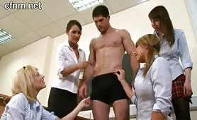 CFNM Academy - Detention for bad girls