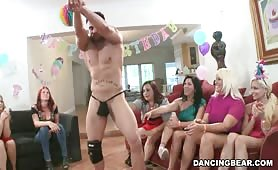 Happy birthday male stripper
