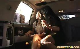 Limousine Blowjob