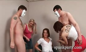 CFNM Spunk Party 5