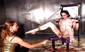 CFNM ball bondage