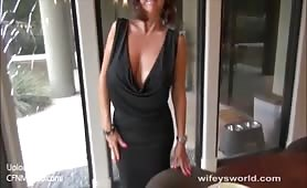 Wifey milf blowjob and faceblasted