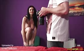 She begs him to cum for her