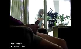 Flashing and jerking for granny