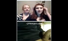 Jerking cock for girls on cfnmcam