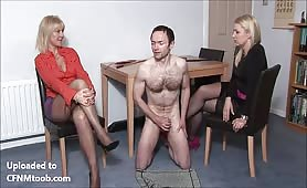 CFNM audition for two Milfs