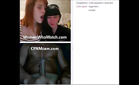 Live cfnm show for two teens