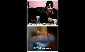 Women interested in cfnmcam cock