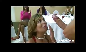 CFNM party cumshot facial compilation