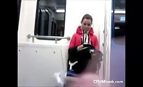 Train dickflash