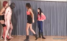 Amazon mistress ballbusting CFNM