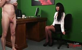 Nudist colony cfnm interview