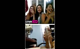Girls cfnm cam cum party